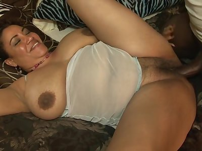 Exotic pornstar in horny mature, black and ebony sex clip