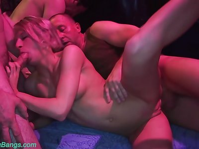 cute crazy german girlfriends first rough bukkake swinger club fuck party experience