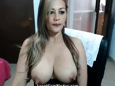 Big nipple Mature MILF