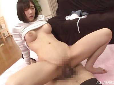 Immoral labelling and sex up a shy clean shaved Asian girlfriend