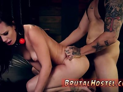 Pussy liking slave first adulthood Best buddies Aidra Fox with an increment of