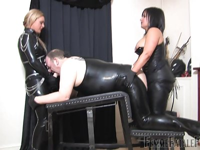 Tasteless BDSM sex with sluts Popsy Athena increased by Popsy R'eal