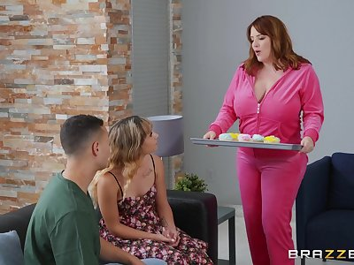 Filthy stepmother Maggie Green seduces daughter's boyfriend